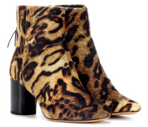 Ankle Boots Ritza mit Leopardenmuster