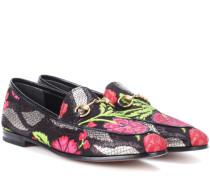 Loafers New Jordaan aus Brokat