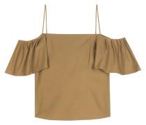 Off-Shoulder-Top aus Baumwolle