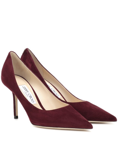 Pumps Love 85 aus Veloursleder