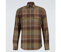 Kariertes Hemd aus Flanell