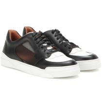 Sneakers Tyson Low II aus Leder und Mesh