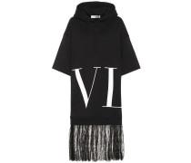Kleid VLTN aus Jersey und Spitze