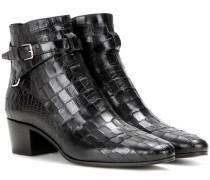 Ankle Boots Blake 40 aus geprägtem Leder