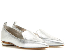Slippers Beya Botalatto aus Metallicleder