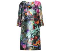 Bedrucktes Kleid Shea aus Seide