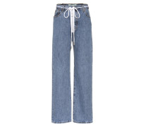 Boyfriend-Jeans Zipped Levi's