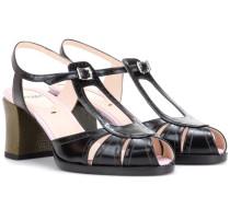 Sandaletten Chameleon aus Leder