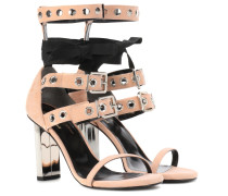 Sandaletten Leyla aus Veloursleder
