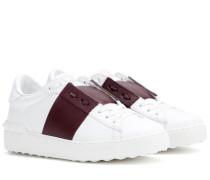 Garavani Leder-Sneakers Open
