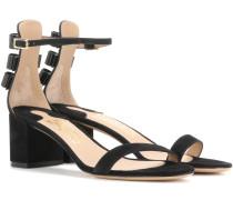 Sandaletten Connie aus Veloursleder