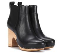 Ankle Boots Camila aus Leder