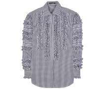 Kariertes Hemd aus einem Baumwollgemisch