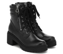 Ankle Boots Viviane aus Leder