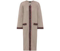 Cardigan mit Wolle und Cashmere