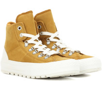 High-Top-Sneakers Chuck Taylor All Star Street Hiker aus Veloursleder