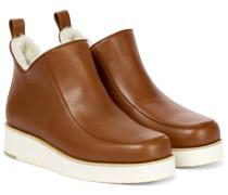 Ankle Boots Harry aus Leder