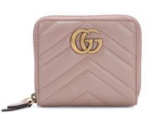 Portemonnaie GG Marmont aus Matelassé-Leder