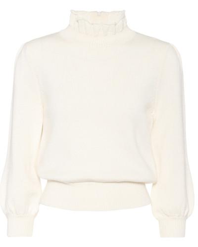 Strickpullover Essential aus Wolle