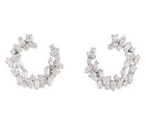 Ohrringe Chloé aus 18kt Weißgold mit Diamanten