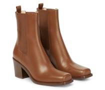 Ankle Boots Barr aus Leder