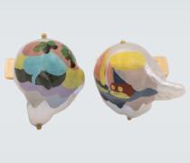 Manschettenknöpfe mit Perlen