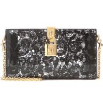 Boxclutch Dolce Box aus Plexiglas mit Taormina-Spitze