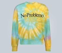 Batik-Sweatshirt No Problemo