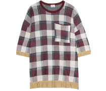 Karierter Pullover Beah aus einem Baumwollgemisch