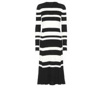Kleid mit Wolle, Seide und Cashmere