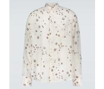 Hemd aus Jacquard