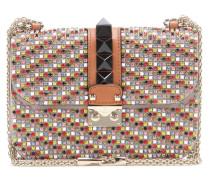 Garavani Schultertasche Lock Small aus Leder