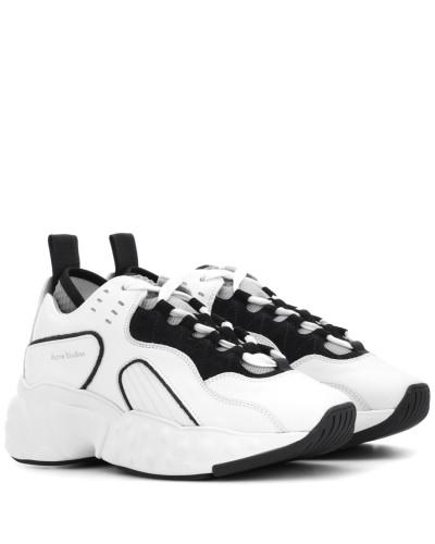 Sneakers Manhattan aus Leder