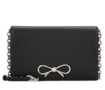 Schultertasche Bow Chain Wallet aus Leder