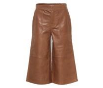 Culottes aus Leder