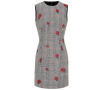 Minikleid aus Wolle und Mohair