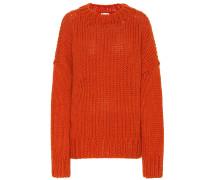Pullover aus Wolle und Mohair