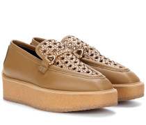 Loafers mit Plateausohle