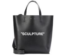 Shopper Sculpture Large aus Leder
