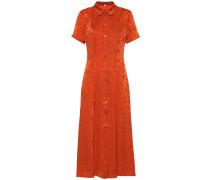 Hemdblusenkleid Paprika aus Jacquard