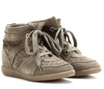 Étoile Wedge-Sneakers Bobby aus Veloursleder