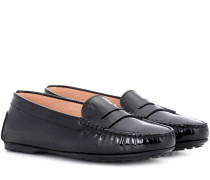 Loafers City Gommino aus Lackleder