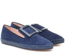 Loafers Viv' Lounge aus Veloursleder