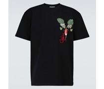 T-Shirt Veggie aus Baumwolle