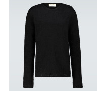 Oversize-Pullover aus Mohair