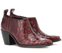 Boots Nola aus Leder