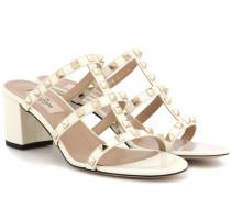 Garavani Sandaletten Rockstud aus Lackleder