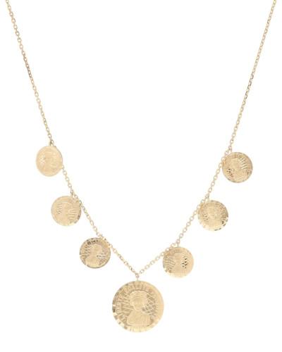 Halskette Louise d'Or aus 18kt Gelbgold