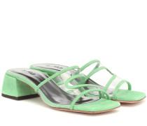 Sandalen Lola aus Veloursleder