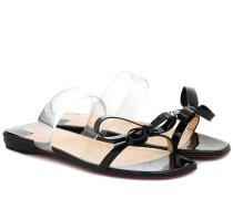 Sandalen Just Nodo mit Lackleder